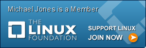 Michael Jones, Member of The Linux Foundation